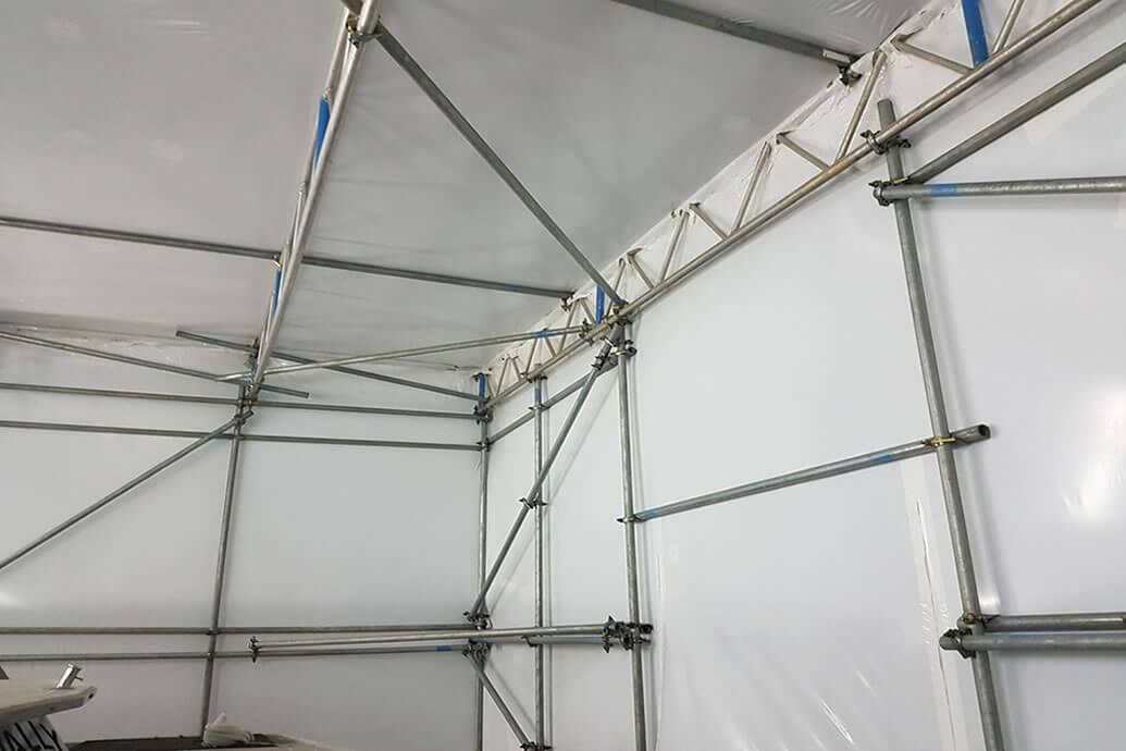 Textile Membranes in Temporary Buildings