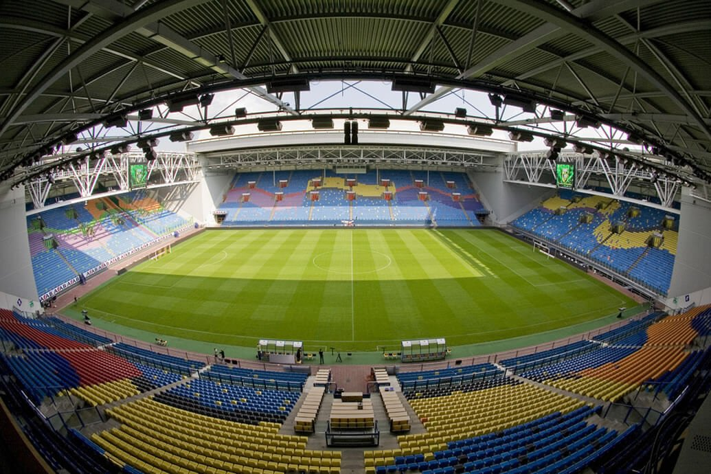 The Gelredome Soccer Stadium (NL) protected by SharpEye