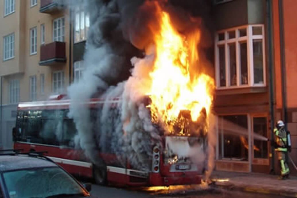 Recent efforts have been doneto increase Motorcoach and School Bus Fire Safety.