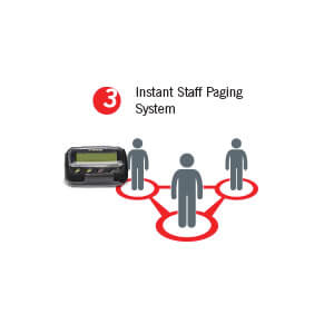 Lifeline Staff Paging System