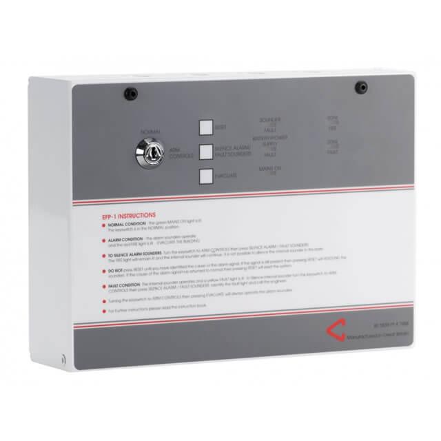 EFP1 Single Zone Conventional Fire Alarm Panel
