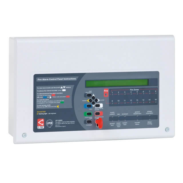 XFP 1 Loop 16 Zone Addressable Fire Panel