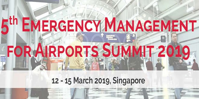 Emergency Management for Airports Summit Singapore 2019