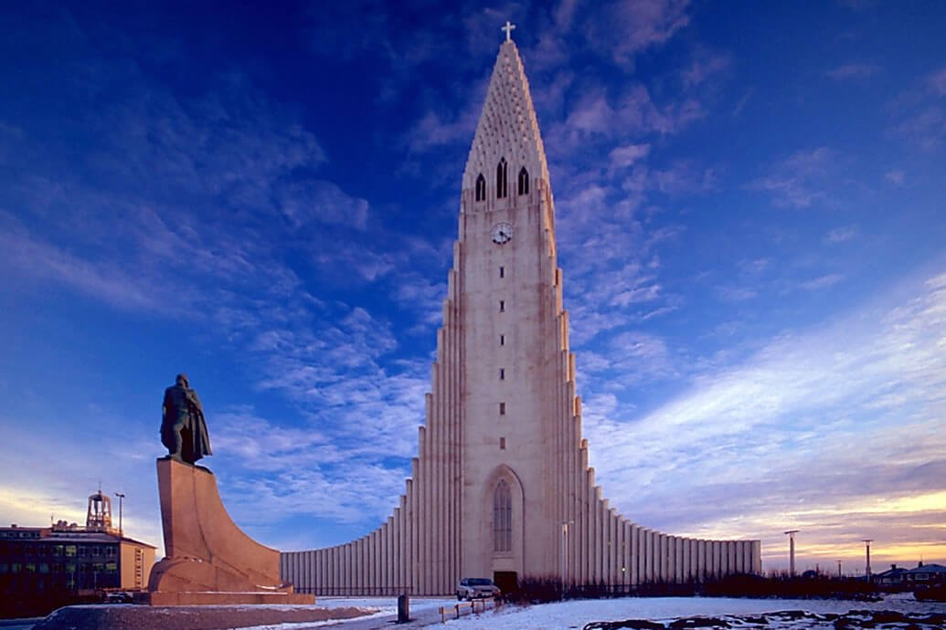 Hallgrimskirkja Church Protected by Securiton
