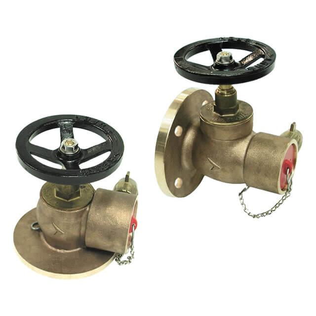 Globe Fire Hydrant Valves