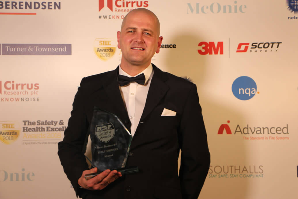 Industry award for Advanced customer service