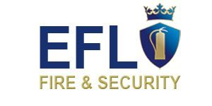 EFL Fire and Security logo