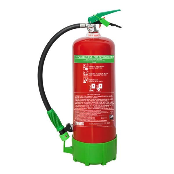 6Kg CLEAN AGENT Fire Extinguisher