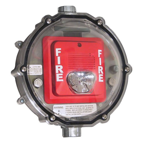 Stopper Dome Strobe Heated Enclosure