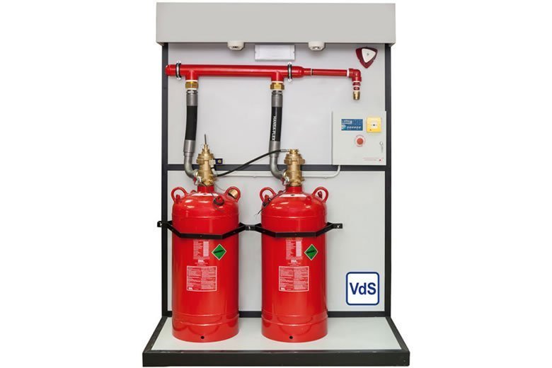 HFC-227 Fire Suppression System - Fire Safety Search
