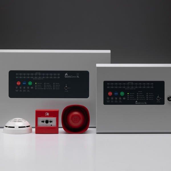 QuickZone XL Repeater Fire Panel
