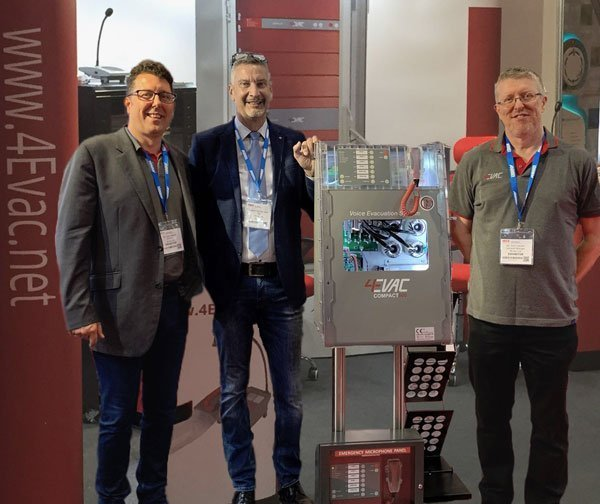 EVAC UK ltd makes an impact at FIREX 2019