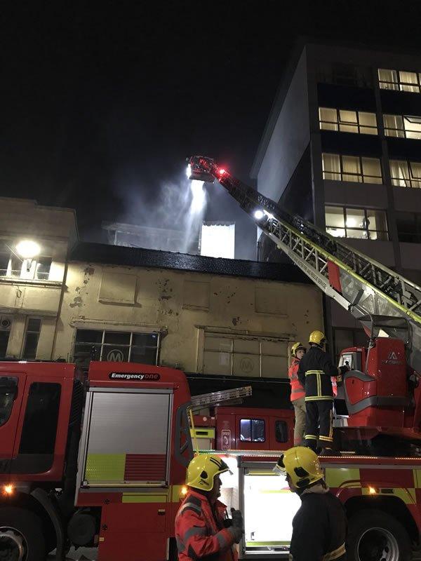 Students Ignored Fire Alarm in Bolton Blaze