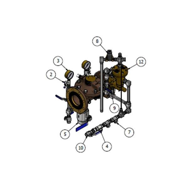 Electric ON OFF Pressure Regulating Deluge Valve VD OF E